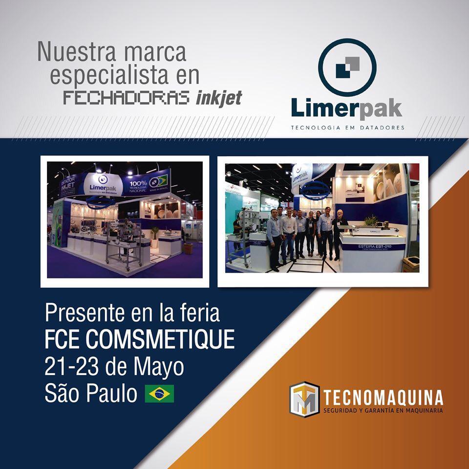 Limerpak Latino América em feiras de maquinas