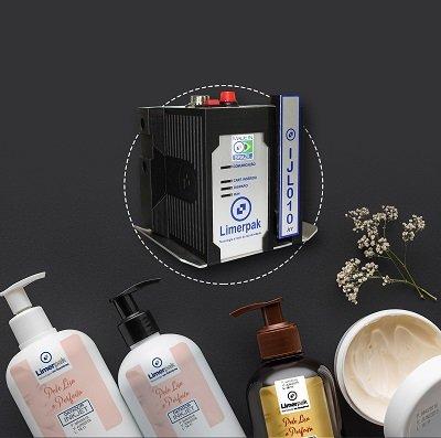 Datador de embalagens Inkjet para cosméticos