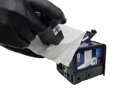Limpeza do cartucho para datador inkjet Limerpak