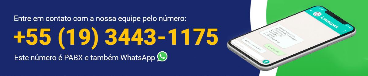 Número contato limerpak